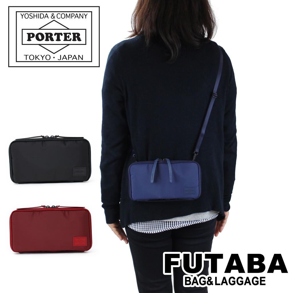 吉田カバン ポーターガール ケープ ショルダーポーチ パスポートケース オーガナイザー PORTER GIRL CAPE 2WAY TRAVEL ORGANIZER 883-05450 軽量 レディース メンズ