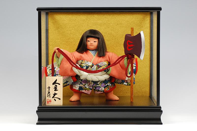 【江戸節句人形】六号 金太『鉞』 幸一光作-人形のフタバ【送料・代引手数料サービス】