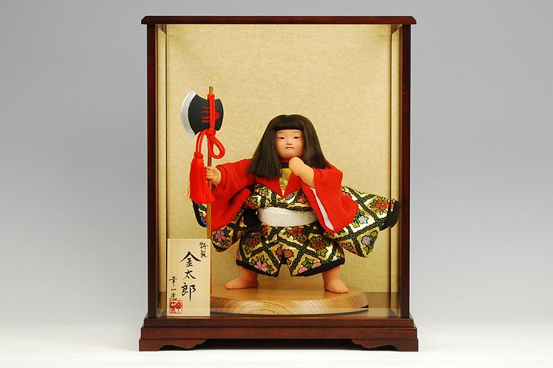 【江戸節句人形】八寸 特製金太 幸一光作-人形のフタバ【送料・代引手数料サービス】