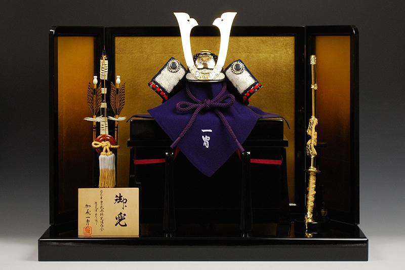 【江戸甲冑】三分の一 彫金牡丹之御甲冑 加藤一冑作-人形のフタバ【送料・代引手数料サービス】