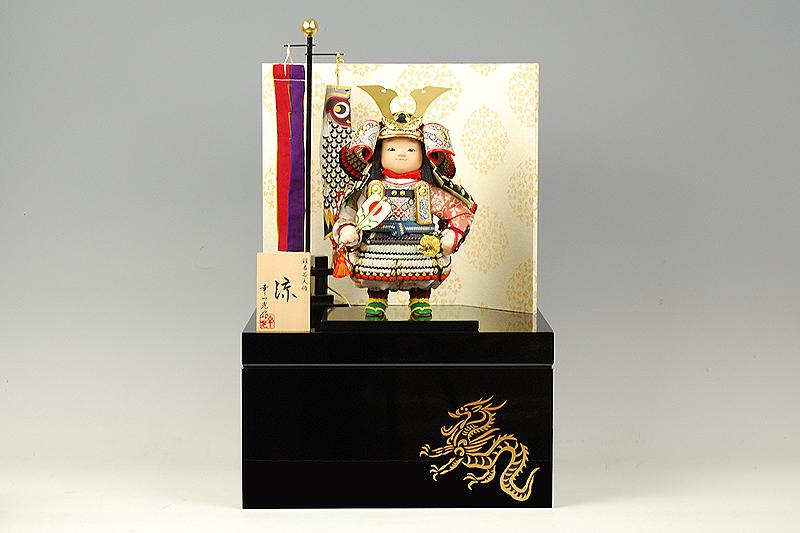 【江戸節句人形】大将飾り『涼』 幸一光作-人形のフタバ【送料・代引手数料サービス】