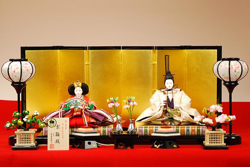 【京雛】藤立涌文之御束帯 平安寿峰作-人形のフタバ【送料・代引手数料サービス】