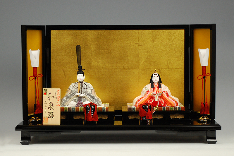 【木目込み雛】和泉雛 真多呂作-人形のフタバ【送料・代引手数料サービス】