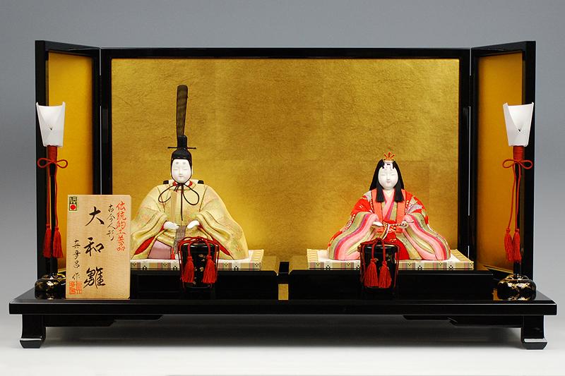 【木目込み雛】大和雛 真多呂作-人形のフタバ【送料・代引手数料サービス】