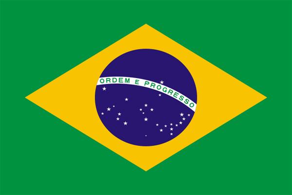 【外国旗】ブラジル国旗(アクリル) サイズ:90×135cm【領収書発行】