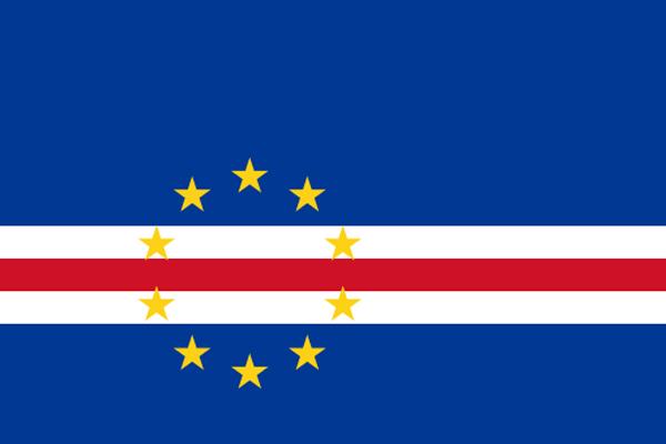 【外国旗】カーボベルデ共和国国旗(アクリル) サイズ:90×135cm【領収書発行】