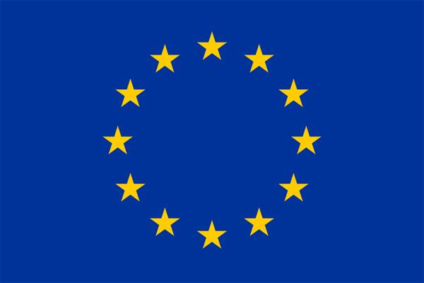 【その他の国旗】欧州連合・EU旗(アクリル) サイズ:90×135cm【領収書発行】