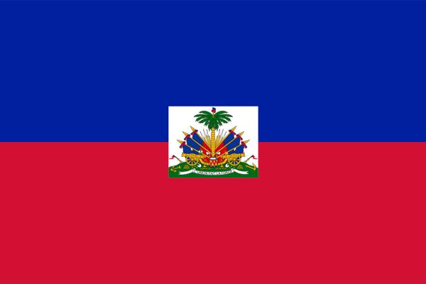 【外国旗】ハイチ共和国国旗(アクリル) サイズ:90×135cm【領収書発行】