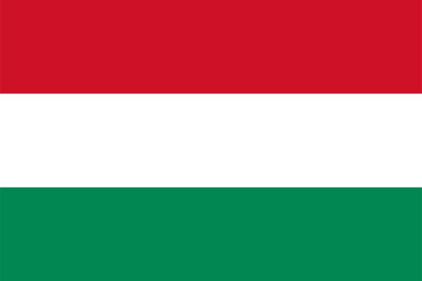 【外国旗】ハンガリー国旗(アクリル) サイズ:90×135cm【領収書発行】