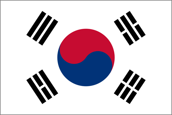【外国旗】大韓民国・韓国国旗(アクリル) サイズ:90×135cm【領収書発行】