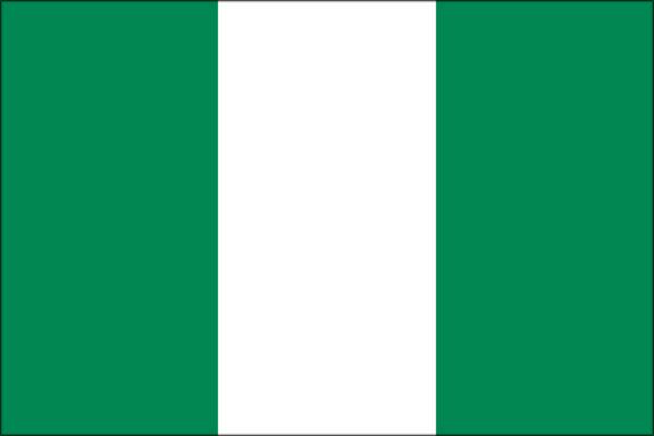 【外国旗】ナイジェリア連邦共和国国旗(アクリル) サイズ:90×135cm【領収書発行】
