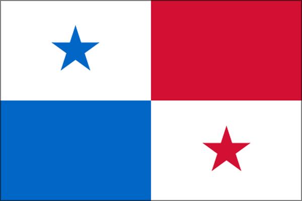【外国旗】パナマ共和国国旗(アクリル) サイズ:90×135cm【領収書発行】