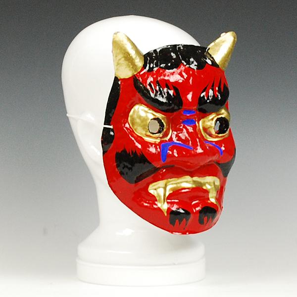 Futaba Sousyoku Decorative Devil Mask Made Of Paper Setsubun