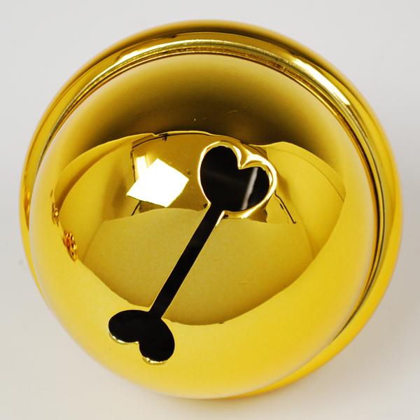 御輿の飾りに使います 御輿につけた鈴の音が祭を盛り上げます お祭り用品 金鈴9.0cm 三寸 おすすめ特集 領収書発行 通信販売