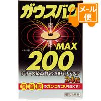 《日時指定 代金引換不可》 ネコポスで送料190円 磁気治療器 200 24粒入 人気 贈与 ガウスバンMAX