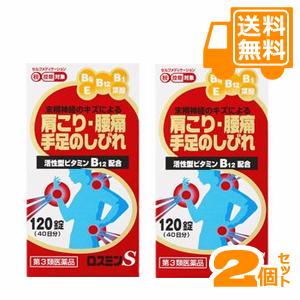 ロスミンS 120錠(40日分)×2個セット 【第3類医薬品】[配送区分:A]