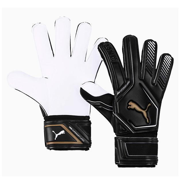 プーマ PUMA キング RC サッカー ゴールキーパーグローブ ブラック 人気商品 GKグローブ セール 041637-01 キーグロ ホワイト