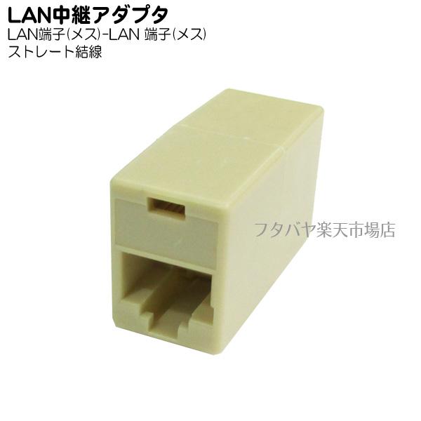 LANケーブルを延長する為のアダプタ ネットワーク担当なら1つ持ってれば何かと便利 LANケーブル延長用アダプタ 変換名人 LAN -LAN メス ファッション通販 LAN-BB 売れ筋ランキング
