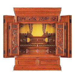 伝統型仏壇 ミニ BO-06 28号 高85×幅65×奥51cm