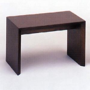 モダン経机 ナラ ダーク色 高さ28cm 幅43cm 奥28cm