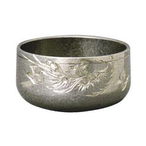 彫刻リン 朧(おぼろ)銀色 龍彫 4.5寸