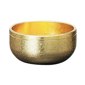 彫刻リン 本金光彩 3寸