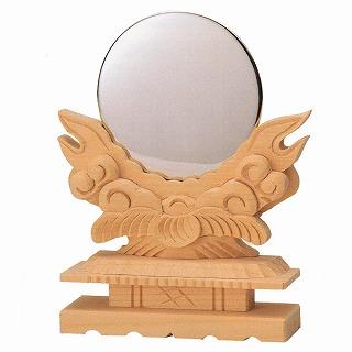 【送料無料】【神具】極上竜彫神鏡 3.5寸