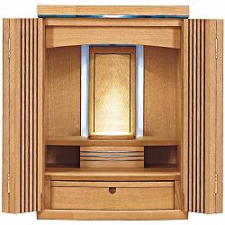 モダン仏壇 ミニ ブレスト 21号 ナラ 高さ64cm×巾45cm×奥行41cm