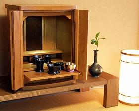 モダン仏壇 ミニ ナポリ 18号 高54×幅40×奥30cm