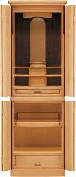 モダン仏壇 ポーカー 48号 ポプラ ライト色 48号 高さ145×幅48×奥46cm