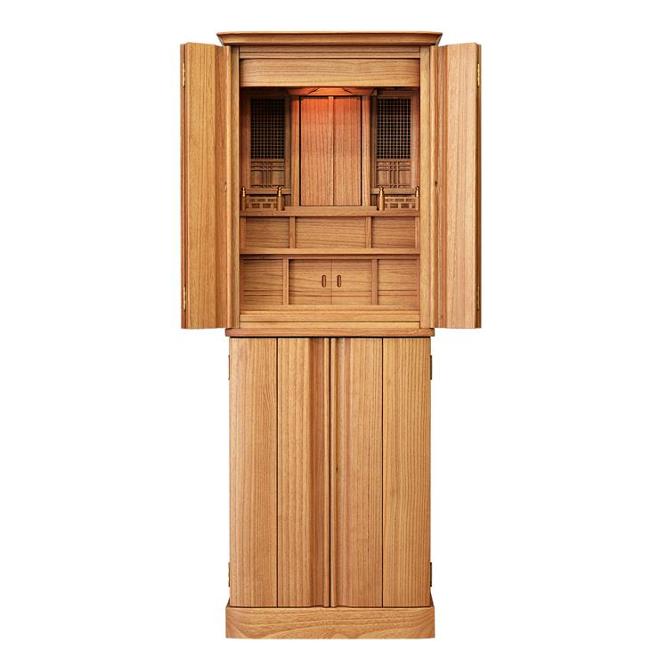 祖霊舎(神徒壇) 仏壇 宗像 50号 桐 床置型