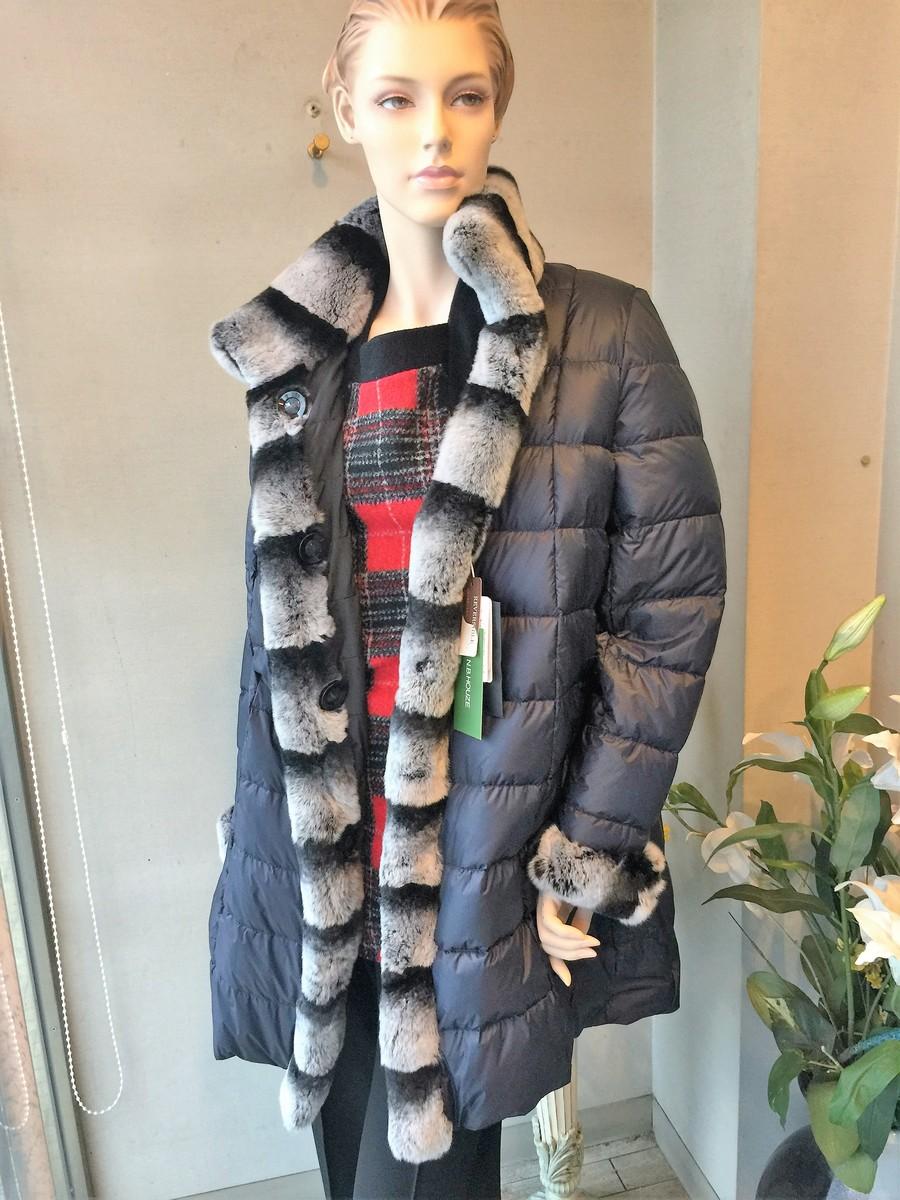 【送料無料】ダウンコート レディースファッション ミセスファッション レディース ミセス ダウン アウター コート 40代 50代 60代ダウン コート リバーシブル キルティング 毛皮付き