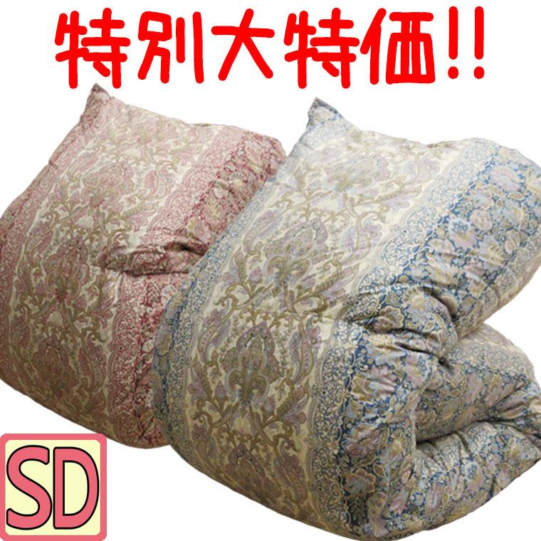 マザーグース93% 増量1.6kg 羽毛布団 セミダブル ハンガリー産マザーグース93% 1.6kg/セミダブルロング/SDL/400dp以上/羽毛ふとん/グースダウン/80サテン超長綿/あったか/ツインキルト/二層/抗菌防臭/SALE/セール