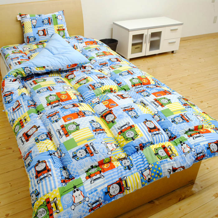 Junior for the Thomas the tank engine bedding set  Bedding  body pillow  with cover  have set  can be used immediately. KODAWARI ANMINKAN   Rakuten Global Market  Class five points of