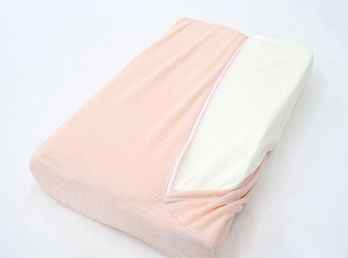 ◆ Kyoto Nishikawa mold mold finishing foam urethane pillow approx. 30 x 46.5 x 10 cm pink blue pillow [Nishikawa memory foam pillow memory foam pillow polyurethane landscape landscape rolled over Rakuten