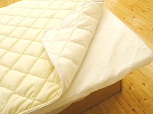 耐水洗耐水洗日本被褥床上用品和床垫 (可移动) / 王 / invistadakron 棉 hollofil II 使用可拆卸的固体棉床垫国王长约 180 × 205 厘米