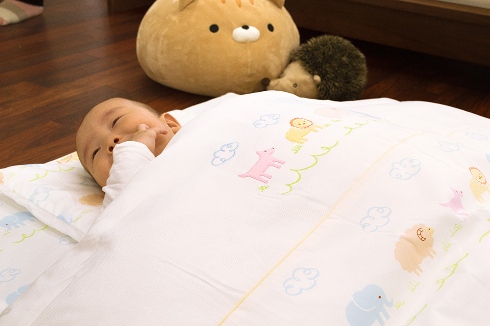 Cl Product Made In Nishikawa Baby Futon Set Japan Nine Points Animal Park