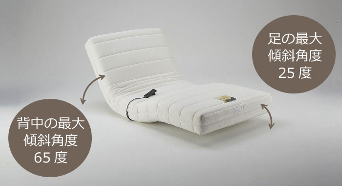 France Bed looper move RP-1000 / bed / mattress / Lycra inning / electric / wireless remote controller