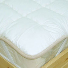 【SALE/セール開催中・20%OFF】【送料無料】 ハイグレードベッドパッド ウール(菌コロリ) クィーンサイズ