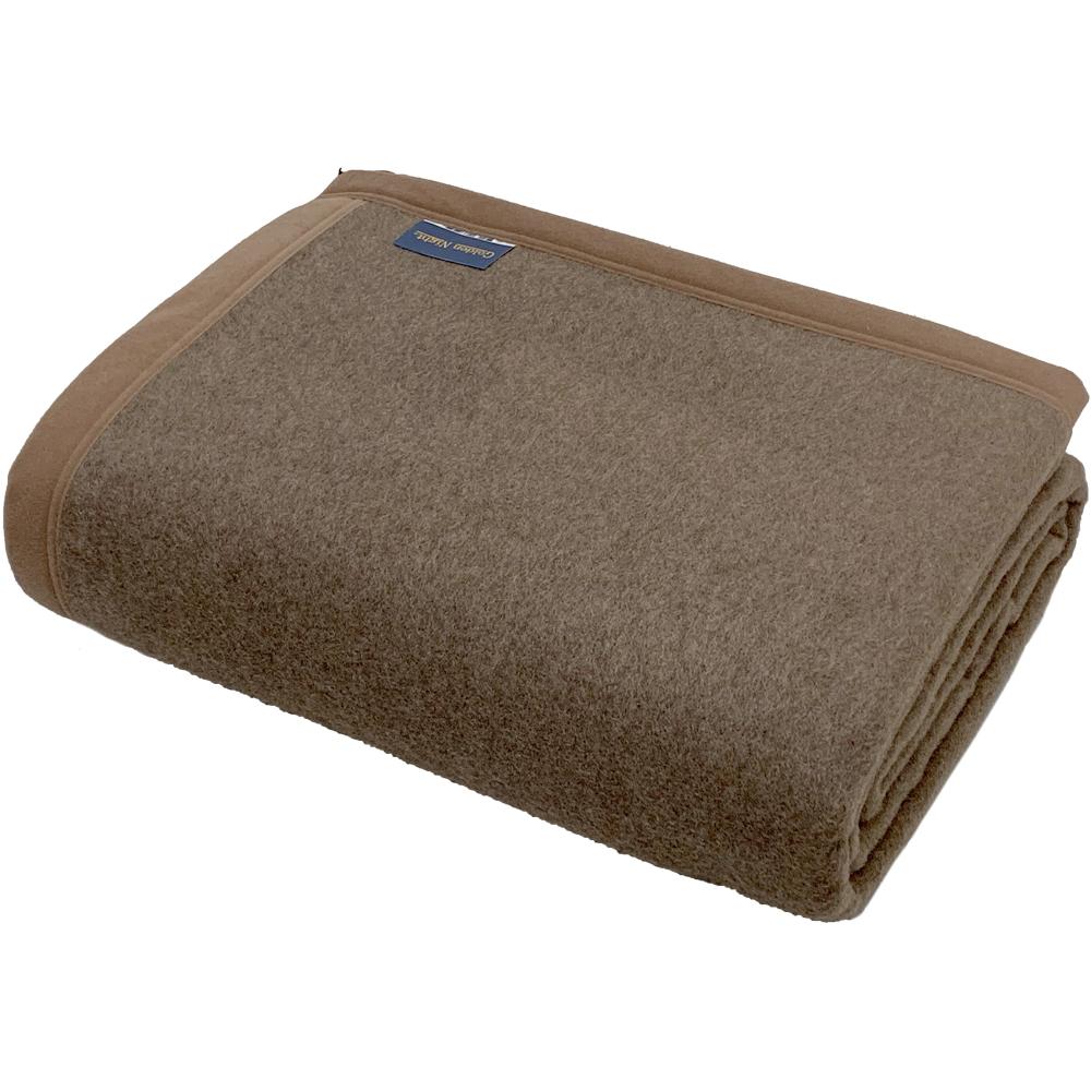 高品質カシミヤ毛布 ダブルサイズ 180x210cm カラー ブラウン 表記BE 西川 カシミヤ100% 送料無料 日本製 カシミア毛布 【あす楽対応】 【敬老の日】