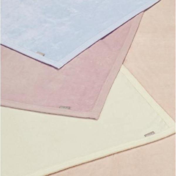 西川 綿毛布 ダブル 180×210cm シール織綿毛布 シンプル 無地カラー 日本製 高野口 FQ20151023