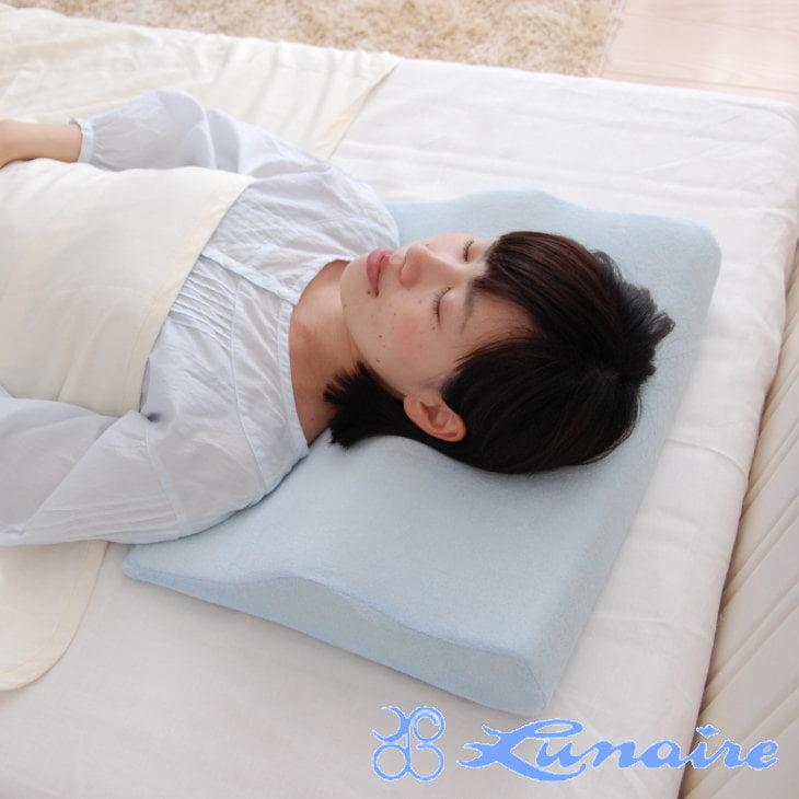 洗える低反発ショルダー枕 40×50×0~8センチ【送料無料】【枕 まくら ピロー pillow 寝具 ウォッシャブル 洗える枕】【N】【ギフトラッピング無料】【futonyasan】