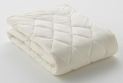 フランスベッド クランフォレスト羊毛ベッドパッド ダブル ( 重量 1.1 kg )【送料無料】【ギフトラッピング無料】【futonyasan】