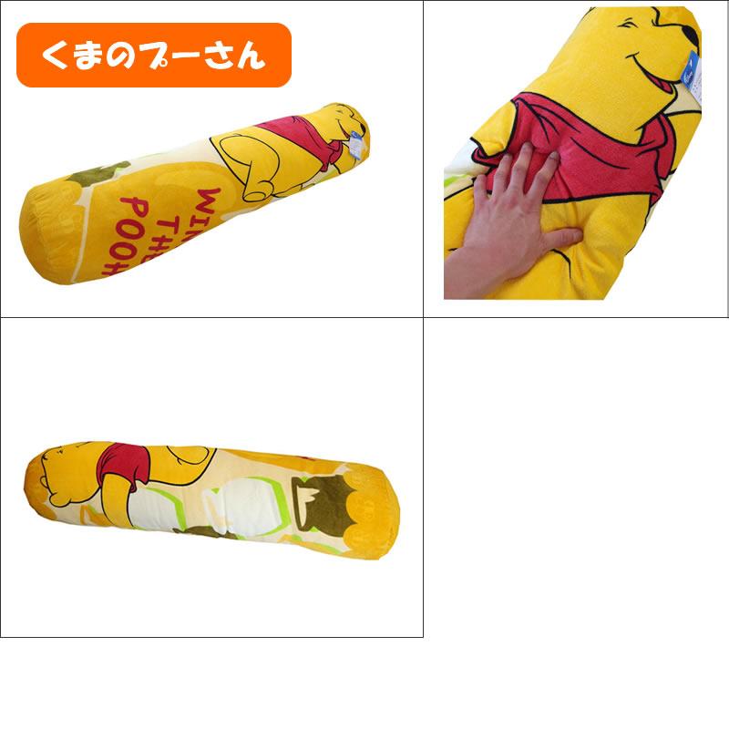 迪士尼正规的物品☆最小限度数进货!圆柱形拥抱枕头小熊维尼/马利拥抱枕头尺寸约25*105cm