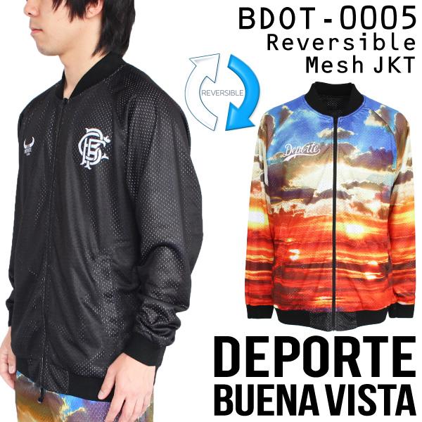 ブエナビスタ デポルテ ジャージ REVERSIBLE MESH ジャケット BDOT-0005【フットサル サッカー】