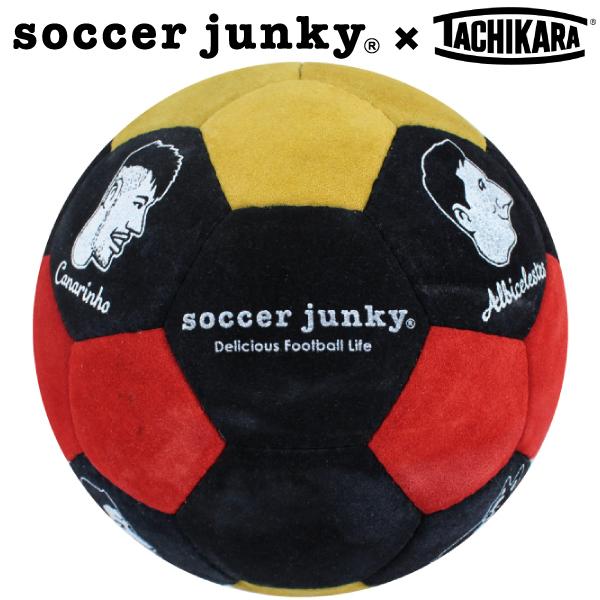サッカージャンキー サッカーボール5号球 タチカラのキモチ+2 SJ16034【フットサル サッカー】