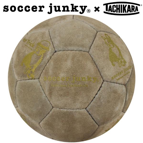 サッカージャンキー サッカーボール5号球 タチカラのキモチ+1 SJ16033【フットサル サッカー】