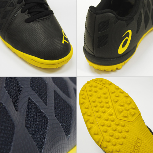 asics/亚瑟士2015SS TOQUE 3 TF(Tokki 3TF)BLK/BLK(在室内五人足球鞋鞋店以外的人造草坪足球)(特价促销sale)