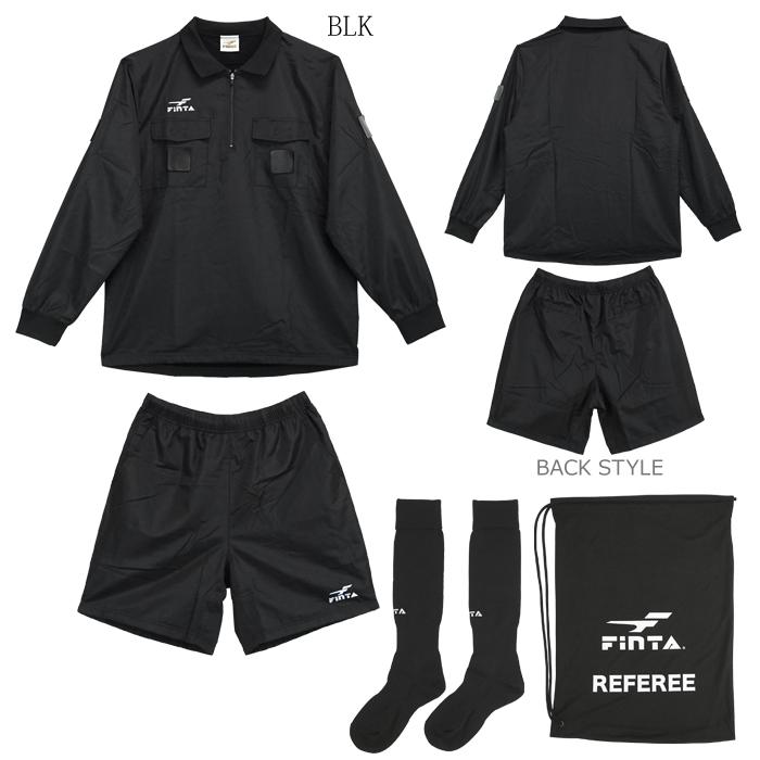 【送料無料】FINTA/フィンタ 審判着 レフリーウィンターセット FT5150