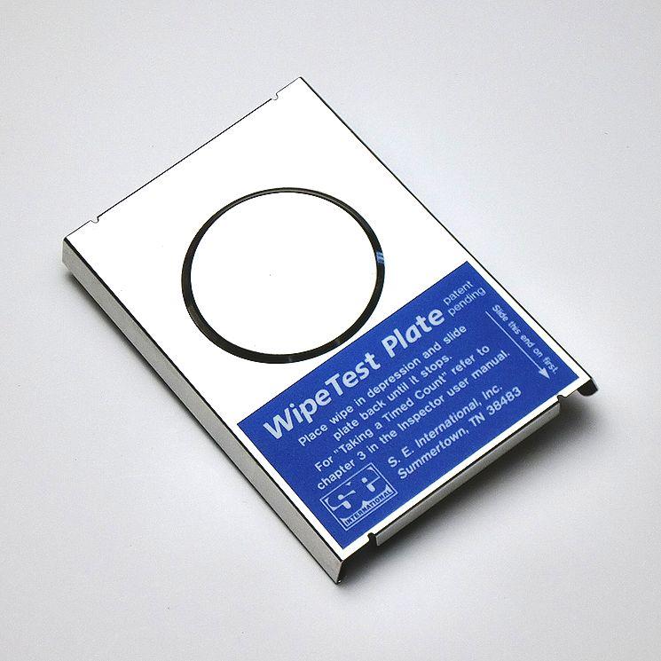 ワイプテストプレート(Wipe Test Plate)【送料無料】インスペクターシリーズ放射線遮断プレート(測定器本体は別売りです) インスペクターUSB、製造番号30328以降のインスペクタープラスに対応